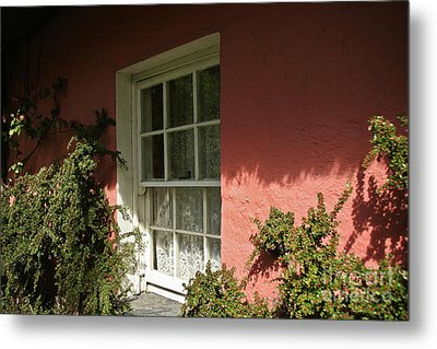 Metal Print featuring the photograph Window In Ireland by Christine Amstutz