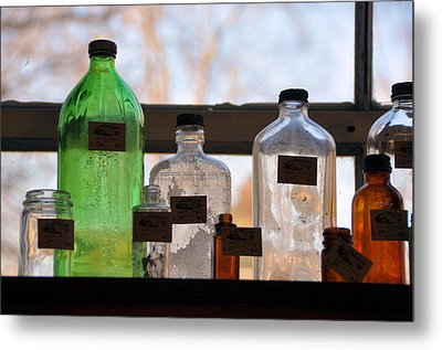 Window Light Metal Print by Jan Amiss Photography
