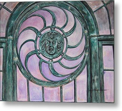 Window Memory Metal Print by Judy Riggenbach
