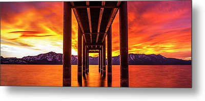 Metal Print featuring the photograph Window Of Perfection by Brad Scott