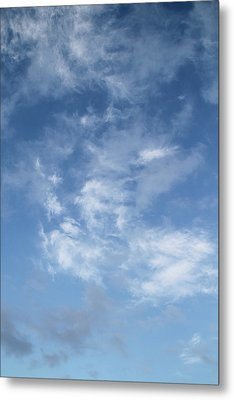 Window On The Sky In Israel During The Winter Metal Print by Yoel Koskas