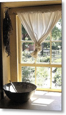 Window On Yesterday Metal Print