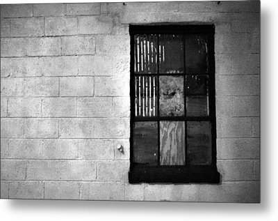 Metal Print featuring the photograph Window Pains by Jeanette O'Toole