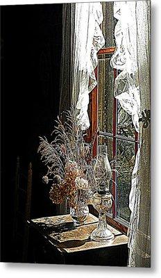Window Sunshine 2 Metal Print