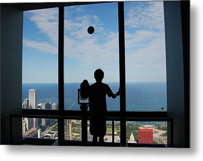 Window To Discovery Metal Print