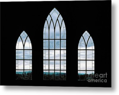 Metal Print featuring the photograph Window To God's Country by Brad Allen Fine Art