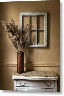 Window To Nowhere Metal Print