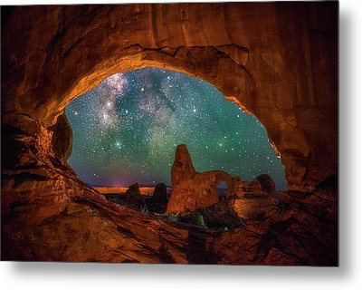 Window To The Heavens Metal Print by Darren White