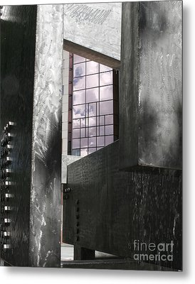 Window To The Sky Metal Print by Keith Dillon