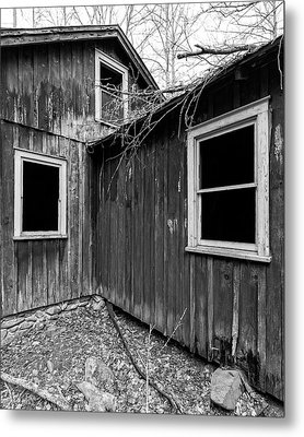 Metal Print featuring the photograph Windows 3 by Alan Raasch