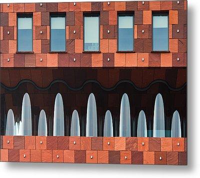Windows And Mas Metal Print by Greetje Van Son