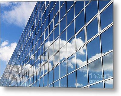 Windows Cloud Metal Print by Tim Gainey