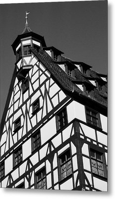 Windows ... Metal Print by Juergen Weiss