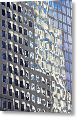Metal Print featuring the photograph Windows Of 2 World Financial Center 2 by Sarah Loft
