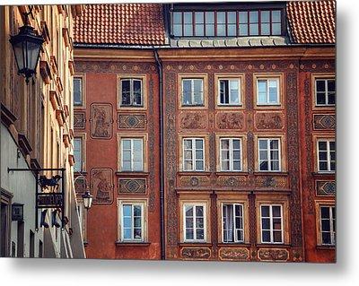 Windows Of Warsaw  Metal Print by Carol Japp