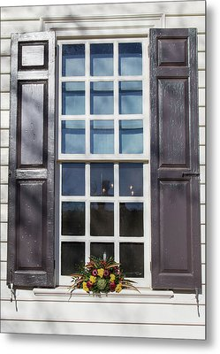 Windows Of Williamsburg 30 Metal Print