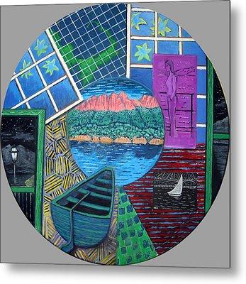 Windows Metal Print by Susan Stewart
