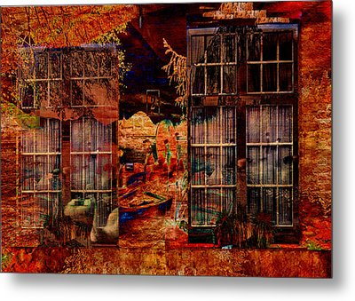 Windows To The Soul Metal Print by Sarah Vernon