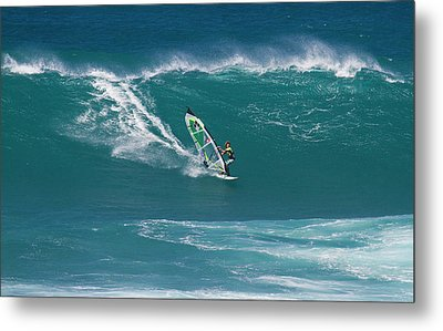 Windsurfer At Hookipa, Maui Metal Print