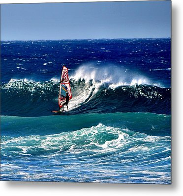 Windsurfer Metal Print