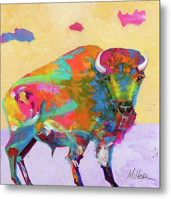Windswept Metal Print by Tracy Miller