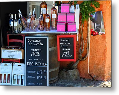Metal Print featuring the photograph Wine Cellar by Richard Patmore