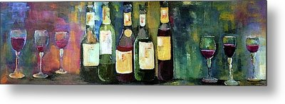 Wine Country Classic Metal Print by Lisa Kaiser