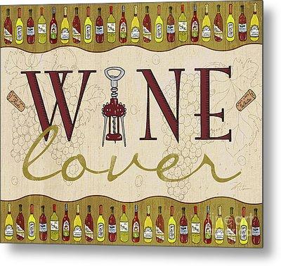 Wine Lover Metal Print