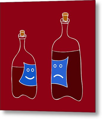 Wine Lovers Metal Print