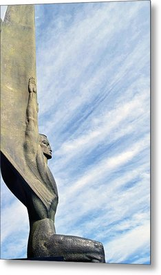 Winged Figure Of The Republic No. 1 Metal Print
