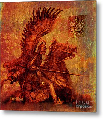 Winged Hussar 2016 Metal Print