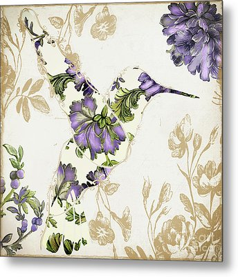 Winged Tapestry IIi Metal Print by Mindy Sommers