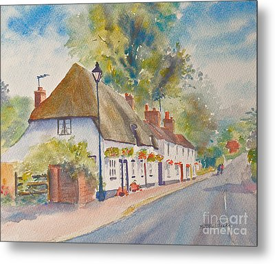 Metal Print featuring the painting Wingham Nr.canterbury by Beatrice Cloake