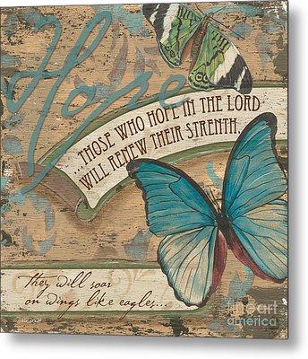 Wings Of Hope Metal Print