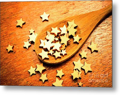 Winning Star Recipe Metal Print