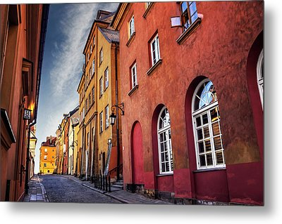 Metal Print featuring the photograph Winsome Warsaw  by Carol Japp
