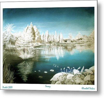 Winter 1 Metal Print by Elisabeth Dubois