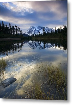 Winter Approaches Metal Print by Mike  Dawson