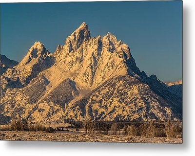 Winter At The Grand Metal Print by Yeates Photography