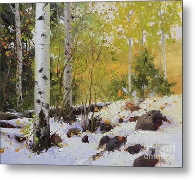 Winter Beauty Sangre De Mountain 2 Metal Print by Gary Kim