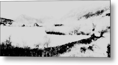Winter Metal Print by Contemporary Art