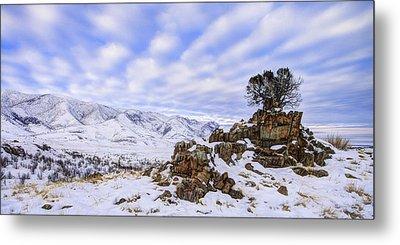Winter Desert Metal Print by Chad Dutson
