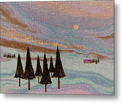 Winter Dream Metal Print by Gordon Beck