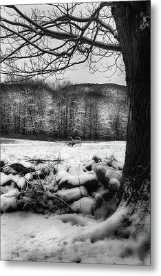 Metal Print featuring the photograph Winter Dreary by Bill Wakeley