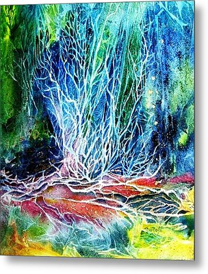 Winter Habitat No.2  Metal Print by Trudi Doyle