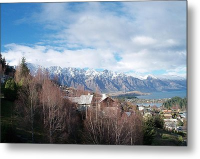 Winter In Queenstown Metal Print