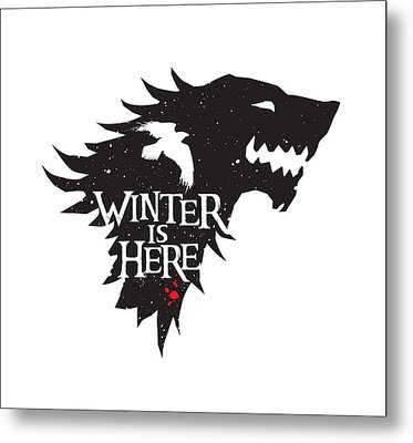 Winter Is Here Metal Print