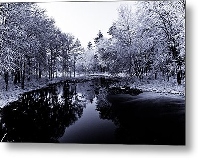Winter Landscape  Metal Print by Edward Myers