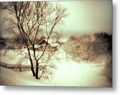 Winter Loneliness Metal Print