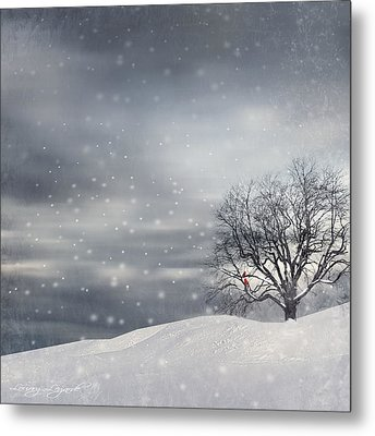 Winter Metal Print by Lourry Legarde
